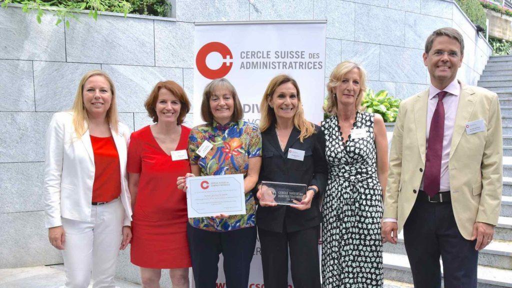 La BCGE remporte le prix 2017 du Cercle Suisse des Administratrices