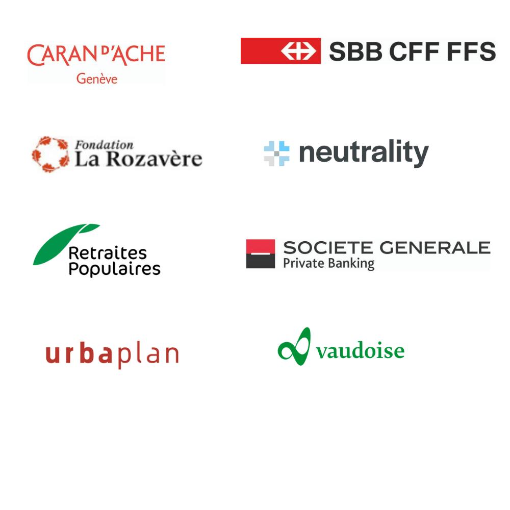 logos entreprises de soutien du CSDA