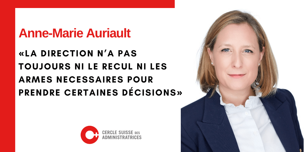 Anne-Marie Auriault dans Entreprise romande